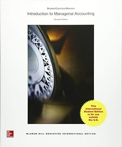 9789814714525: Introduction to Managerial Accounting 7e