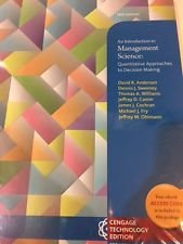 9789814716291: An Introduction to Management Science