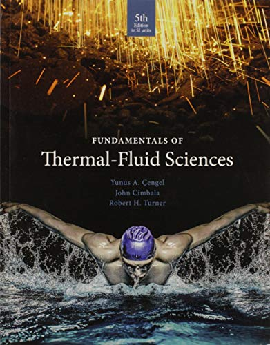 fundamentals of thermal fluid sciences cengel pdf
