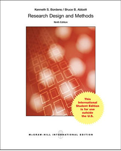 9789814738538: RESEARCH DESIGN N METHODS:A PROCESS APPR