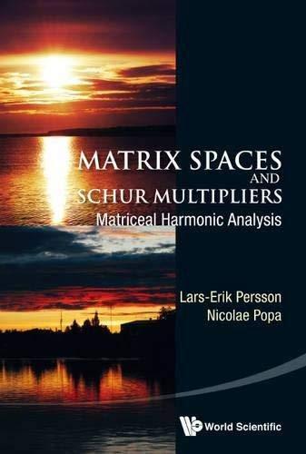 9789814740548: Matrix Spaces And Schur Multipliers: Matriceal Harmonic Analysis