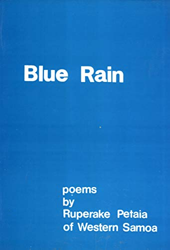 9789820202399: Blue Rain: Poems