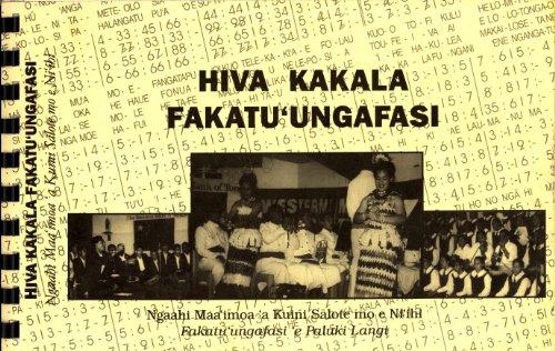 9789820203204: Hiva Kakala Fakatu'ungafasi: Ngaahi Maa'imoa 'a Kuini Salote mo e Ni'ihi Fakatu 'Ungafasi 'e Paluki
