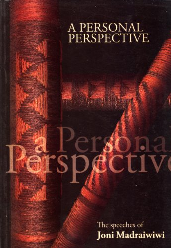 A Personal Perspective: The Speeches of Joni Madraiwiwi: Madraiwiwi, Joni (author), and Tubman, ...