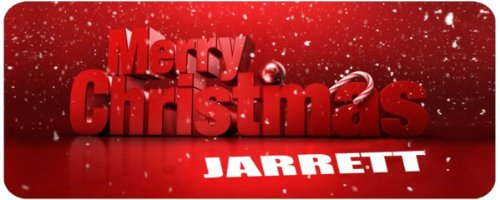 9789822316391: Personalised MERRY CHRISTMAS White Tea/Coffee MUG printed with the name JARRETT