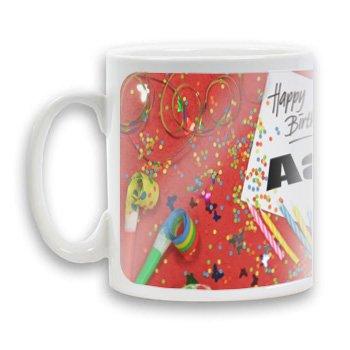 9789827367312: Personalised HAPPY BIRTHDAY Coffee MUG printed with the name MIRELLA