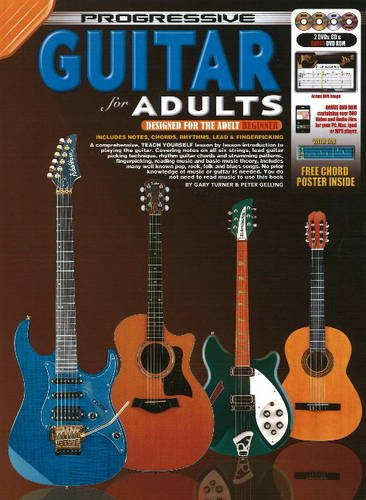 Progressive Guitar for Adults: Turner, Gary; Gelling, Peter