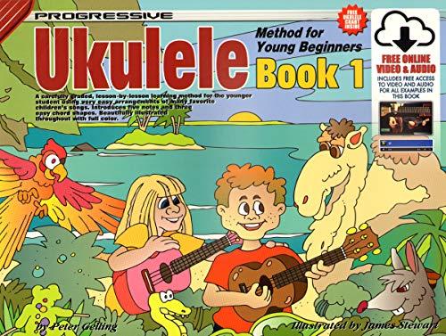 9789829150028: CP15002 - Progressive Ukulele Method for Young Beginners Book 1