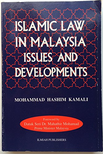 9789832092278: Islamic law in Malaysia: Issues and developments