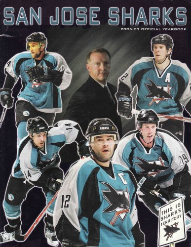 9789832431312: 2006 2007 San Jose Sharks Official Yearbook Magazine