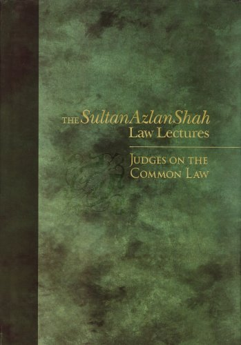 Judges on the Common Law: Visu Sinnadurai (ed. )