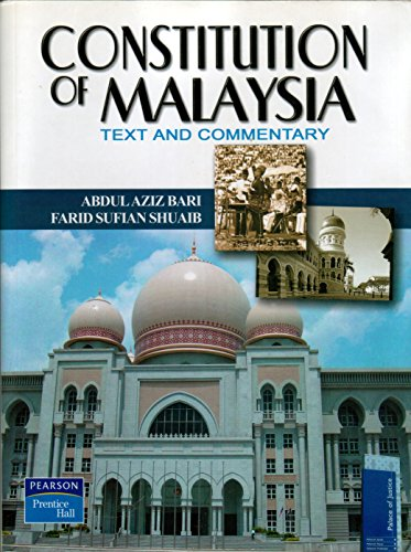 9789832639978: Constitution of Malaysia: Text and Commentary