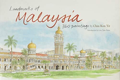 9789834477387: Landmarks of Malaysia: 360 Paintings
