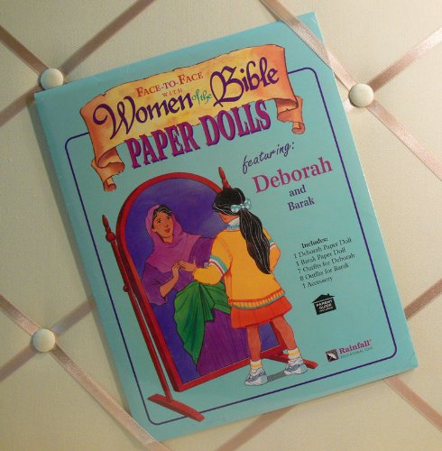 Deborah and Barak Paper Dolls (983450084X) by Simpson, Nancy
