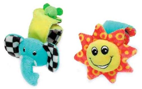 9789834503390: All Things Bright and Beautiful Wrist Rattles (Baby Blessings)
