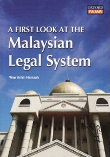 A First Look at the Malaysian Legal: Hamzah, Wan Arfah