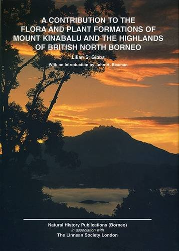 9789838120562: Contribution to the Flora and Plant Formations of Mount Kinabalu and Highlands of British North Borneo