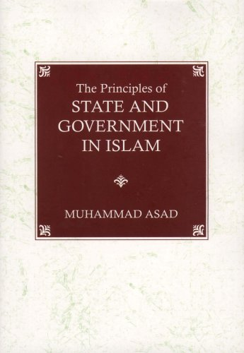 9789839154092: The Principles of State and Government in Islam