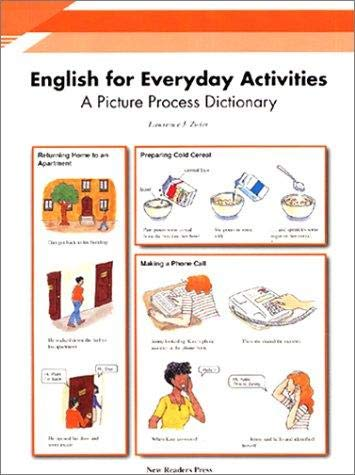 9789839672442: English for Everyday Activities: Student's Book: A Picture Process Dictionary
