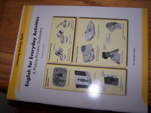 9789839672466: English for Everyday Activities: Listening Activity Book: A Picture Process Dictionary