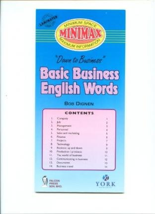 9789839672497: Basic Business English Words (Down to Business)