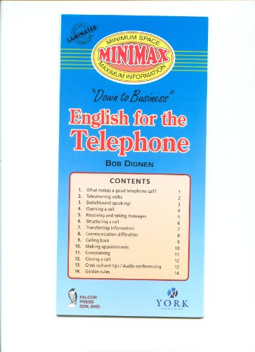 9789839672503: English for the Telephone (Down to Business)