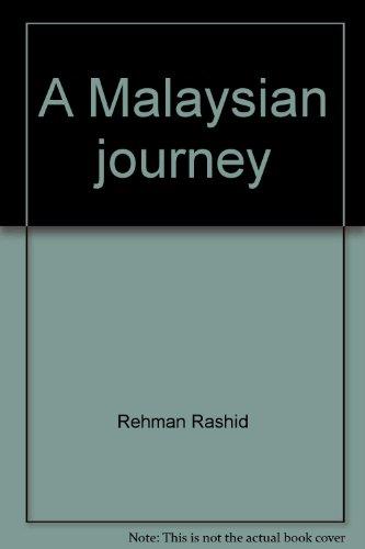 9789839981902: A Malaysian journey