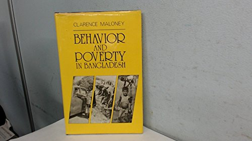 9789840511471: Behaviour and Poverty in Bangladesh
