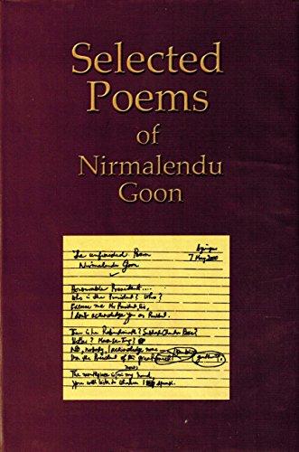 9789840741250: Selected poems of Nirmalendu Goon