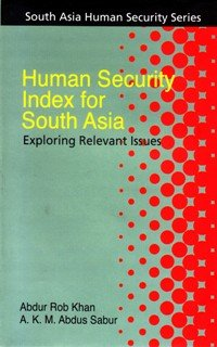 9789845060172: Human Security Index for South Asia: Exploring Relevant Issues