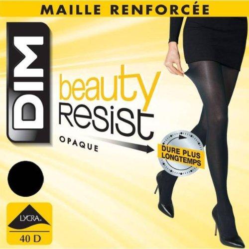 9789853767018: DIM - collant semi opaque beauty resist dim - NOIR T4