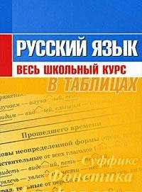 9789855390245: Russian language whole school course in tables Russkiy yazyk Ves shkolnyy kurs v tablitsakh