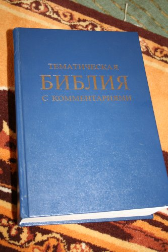 9789856357018: Russian Study Bible with Commentary (Topical