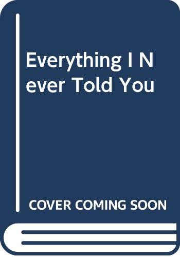 9789865617400: Everything I Never Told You (Chinese Edition)