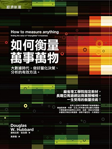 9789866031465: HOW TO MEASRUE ANYTHING: Finding the value of intangibles in business