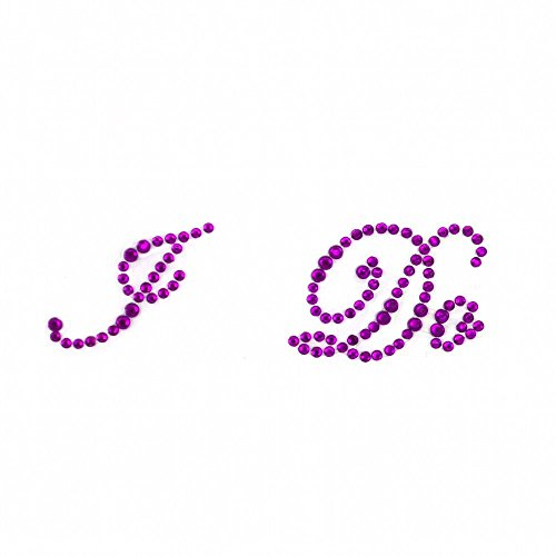 9789866793813: Sweet Treasure ® I en strass pour chaussures de mariage Violet Applique Stickers Something special