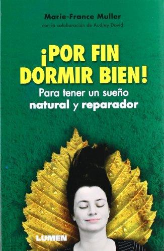 9789870008712: Por fin dormir bien! Para tener un sueno natural y reparador (Spanish Edition)