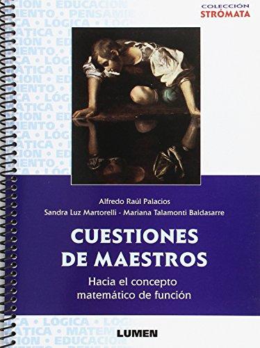 9789870009382: CUESTIONES DE MAESTROS (Spanish Edition)