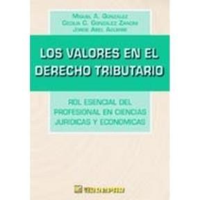 Valores En El Derecho Tributario, Los [Paperback]