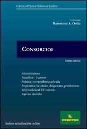 Consorcios 3º Ed. [Paperback] by Bartolome Orfila