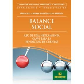 9789870116332: Balance Social [Paperback] [Jan 01, 2010] Rodríguez de Ramírez, María del Carmen