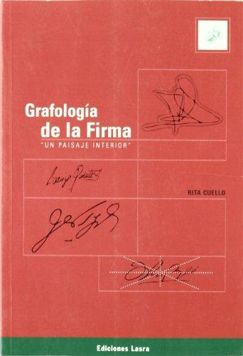 9789871008018: Grafologia de La Firma - Un Paisaje Interior (Spanish Edition)