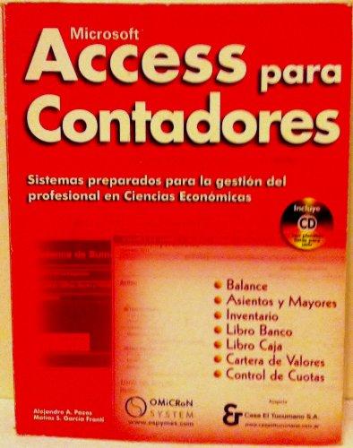 9789871046003: Microsoft Access Para Contadores (Spanish Edition)