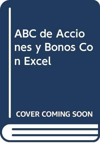 9789871046041: ABC de Acciones y Bonos Con Excel (Spanish Edition)