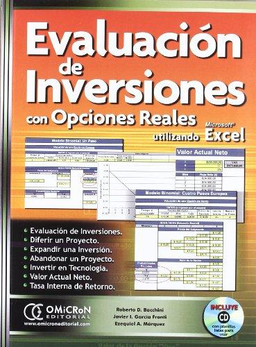 9789871046652: Evaluacion de Inversiones Con Opciones Reales (Spanish Edition)