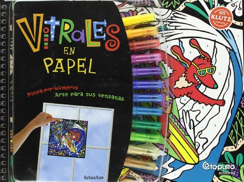 9789871078738: Vitrales de papel/ Paper Stained Glass