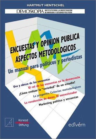 9789871084050: Encuestas y Opinion Publica Aspectos Metodologicos (Spanish Edition)
