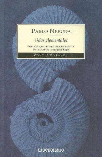 9789871138234: Odas Elementales (Contemporanea) (Spanish Edition)