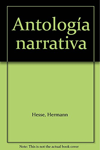 Antología narrativa (9871157789) by Hesse, Hermann