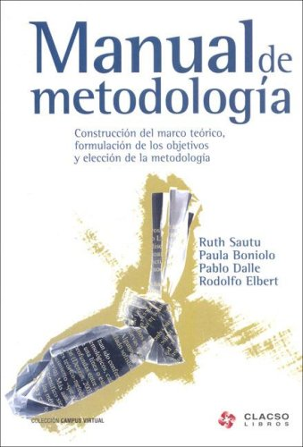 9789871183326: Manual de Metodologia (Spanish Edition)